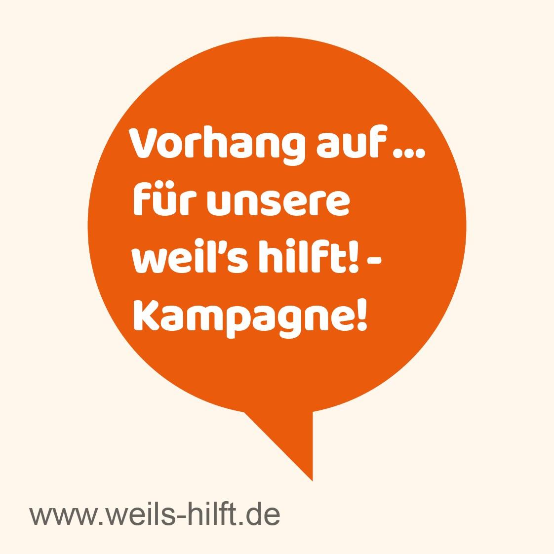 Kampagne_weils_hilft_Posts_FB_IN_Sprechblase_Vorhang auf