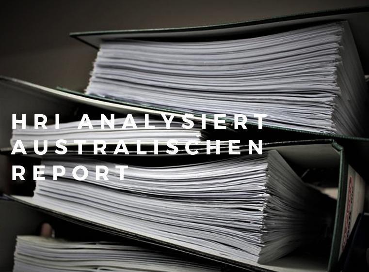 HRI Analyse zum australischen Report